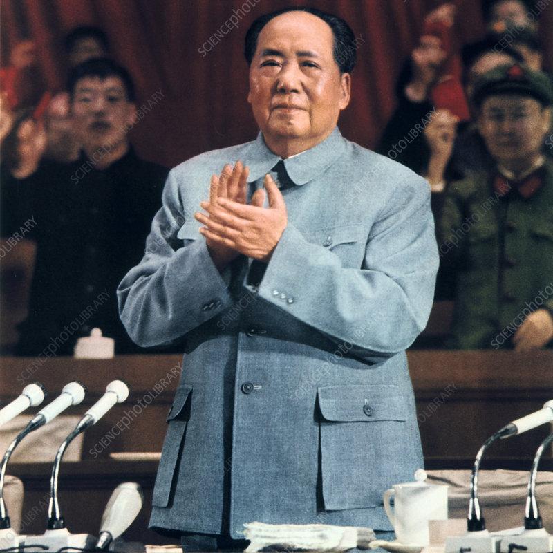 Mao Zedong, Chinese Communist leader, 1960