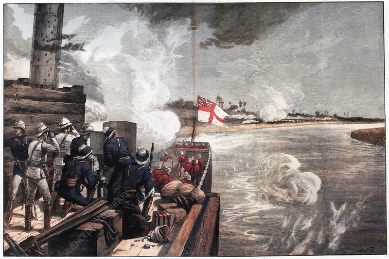 To the Rescue', war in the Sudan, 1885