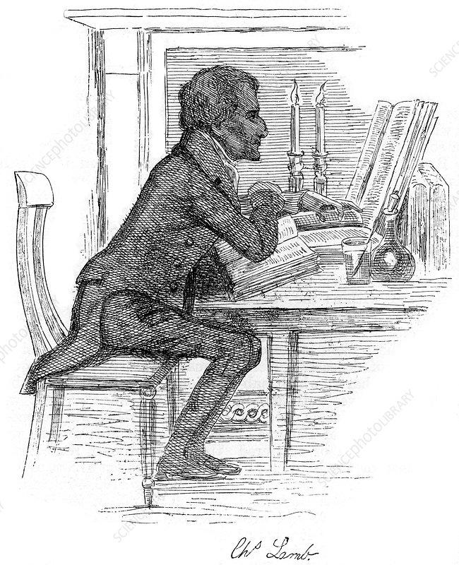 Charles Lamb, English essayist, early 19th century