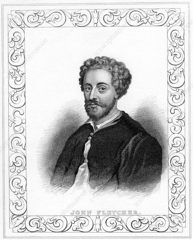 John Fletcher, early 17th century English playwright