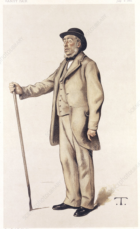 Sir John Lawes, English scientific agriculturalist, 1882
