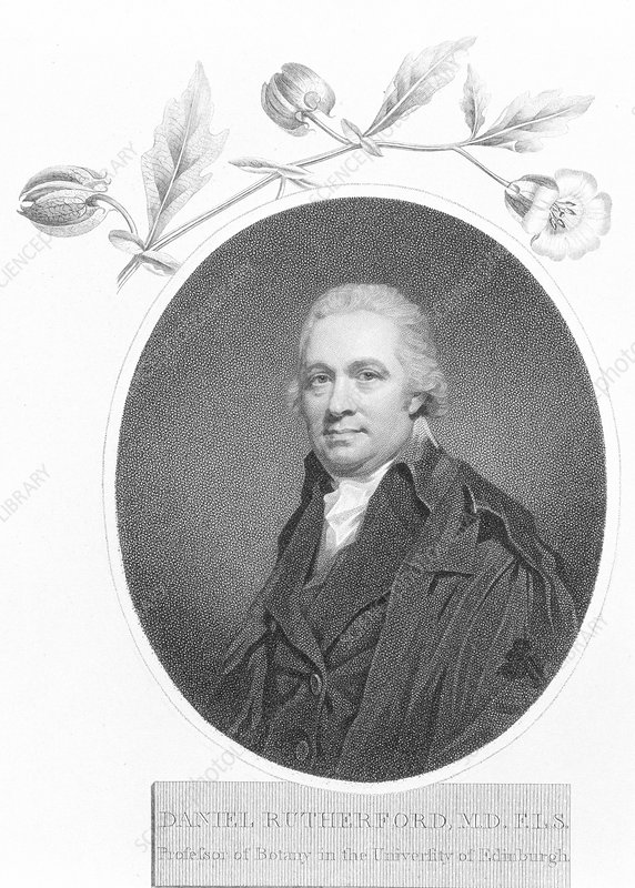 Daniel Rutherford, late 18th century