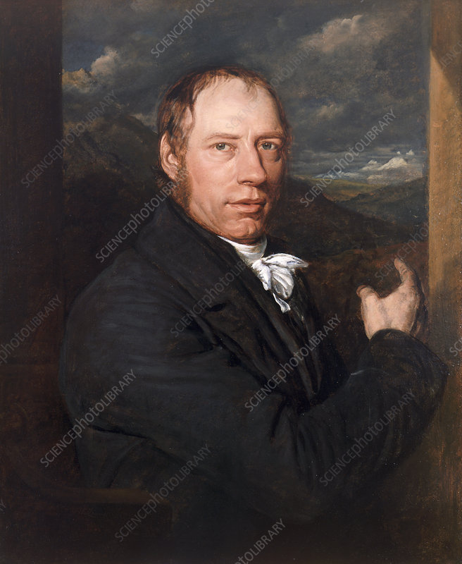 Richard Trevithick, English engineer and inventor, 1816