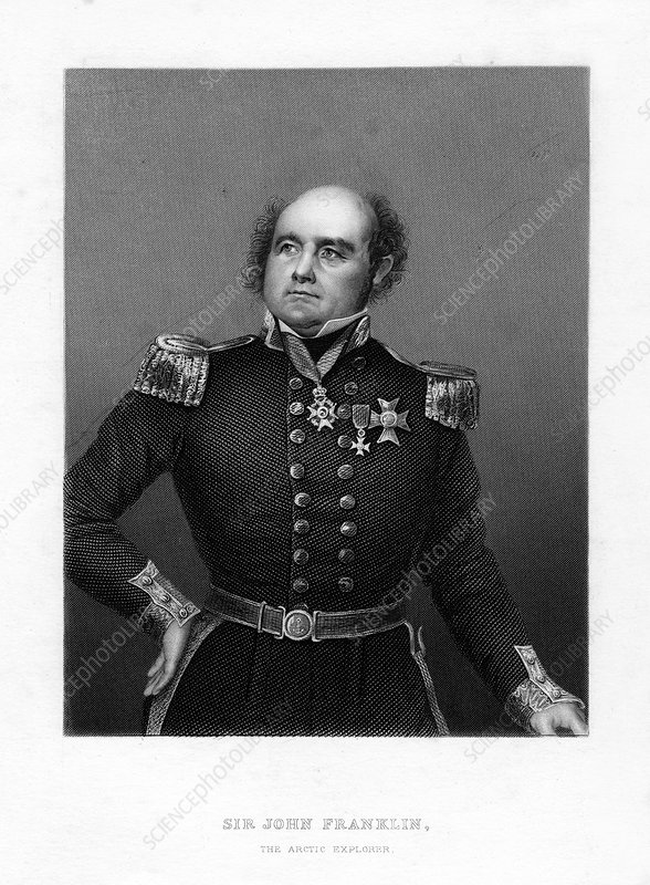 Sir John Franklin, English sea captain and Arctic explorer
