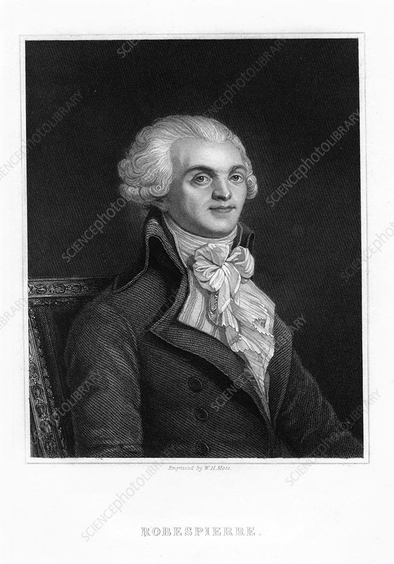 Maximilien Robespierre, leader of the French Revolution