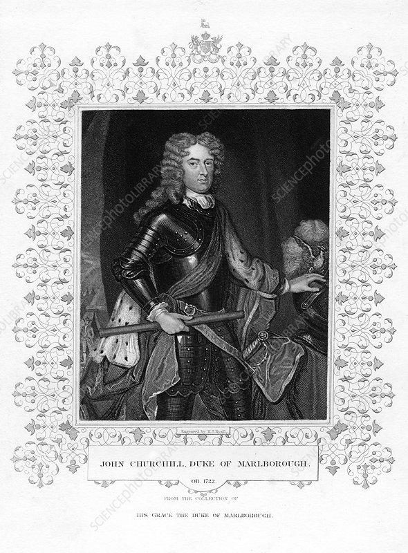 John Churchill, English military officer