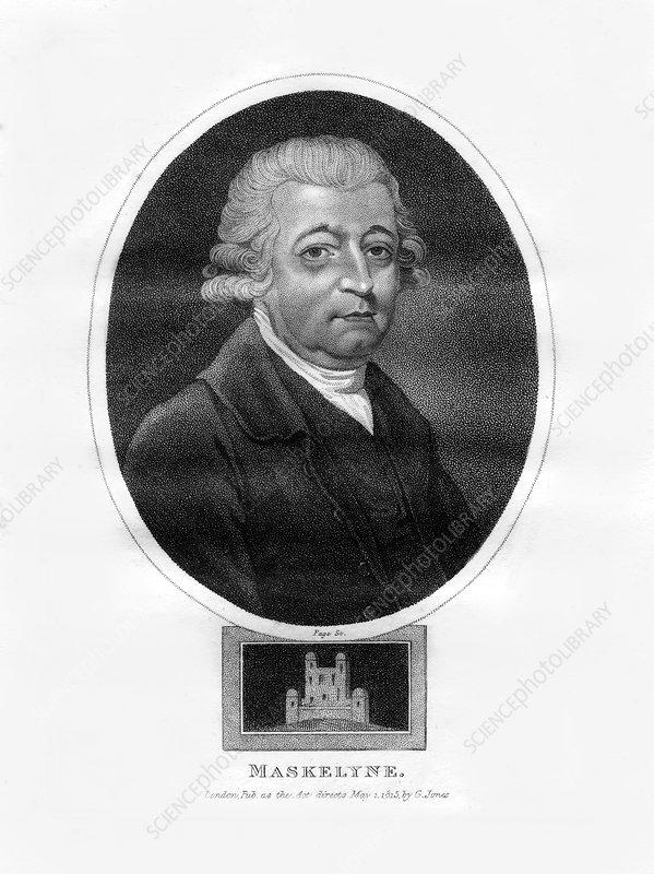 Nevil Maskelyne, fifth British Astronomer Royal