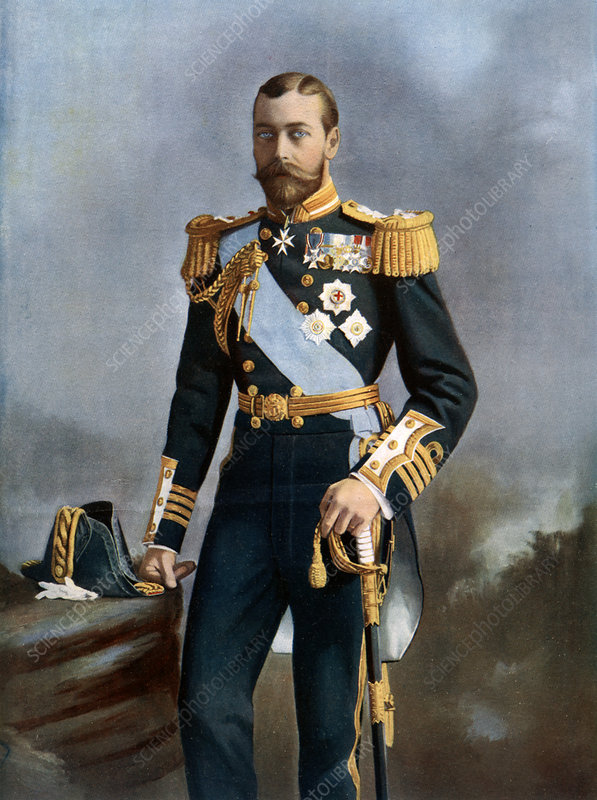 King George V, early 20th century
