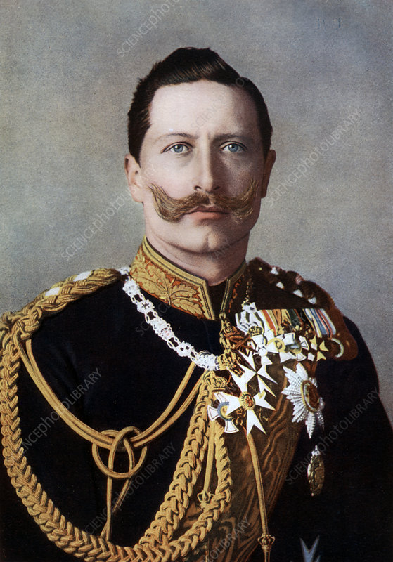 Wilhelm II, Emperor of Germany and King of Prussia