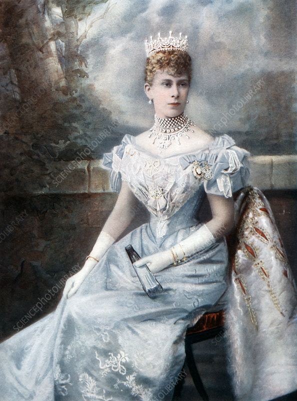 Mary of Teck, late 19th-early 20th century