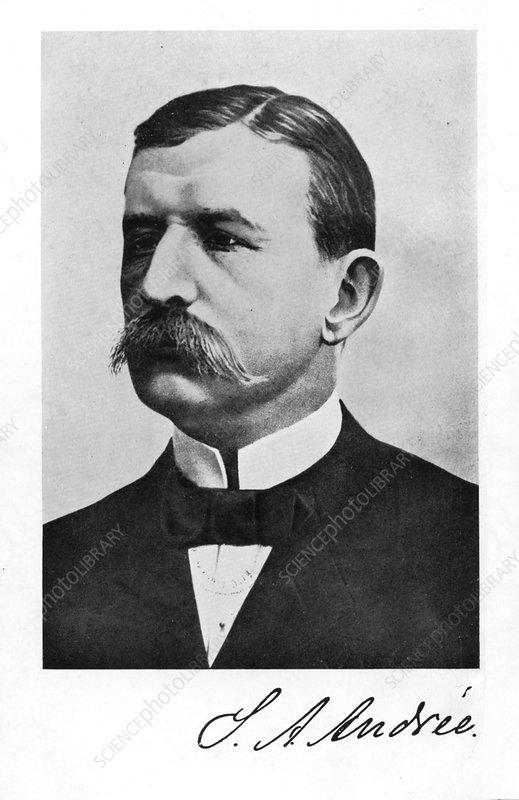 Salomon August Andree, Swedish engineer and aeronaut