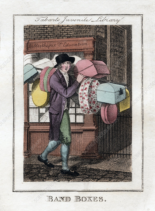 Band Boxes', Tabart's Juvenile Library, London, 1805