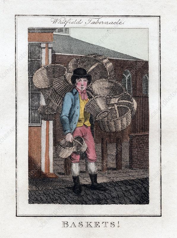 Baskets!', Whitfield's Tabernacle, London, 1805