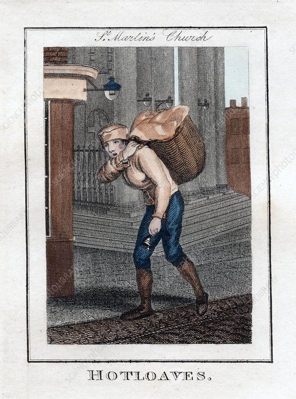 Hotloaves', St Martin's Church, London, 1805