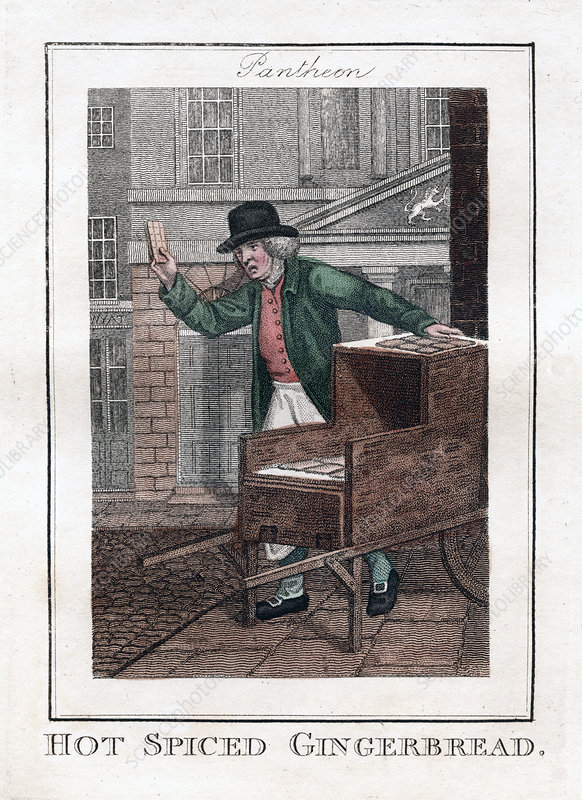 Hot Spiced Gingerbread', Pantheon, London, 1806