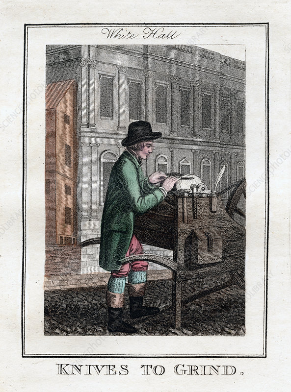 Knives to Grind', Whitehall, London, 1805