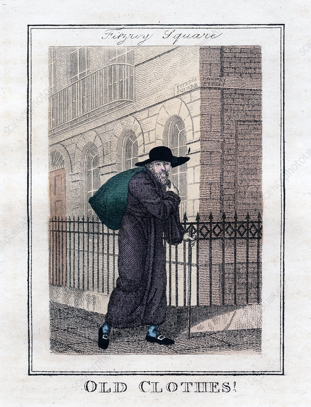 Old Clothes!', Fitzroy Square, London, 1805