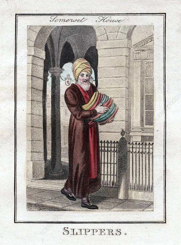 Slippers', Somerset House, London, 1805