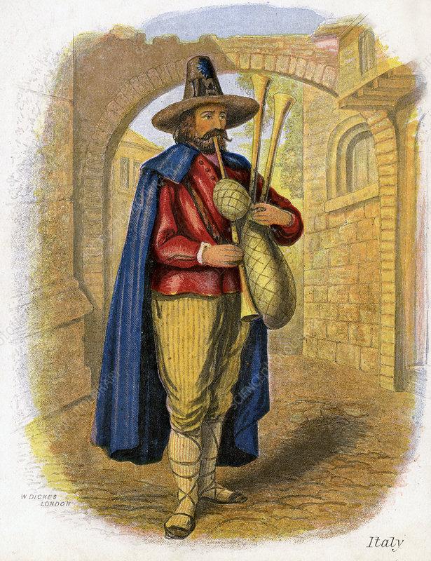 Italian Musician', 1809