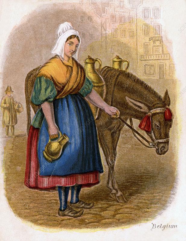 Belgian Milk-Woman', 1809