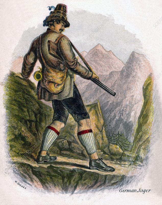 Bavarian Peasant', 1809