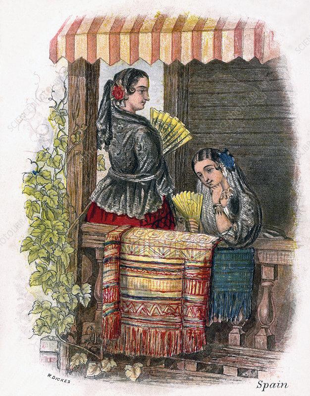 Spanish Girl', 1809