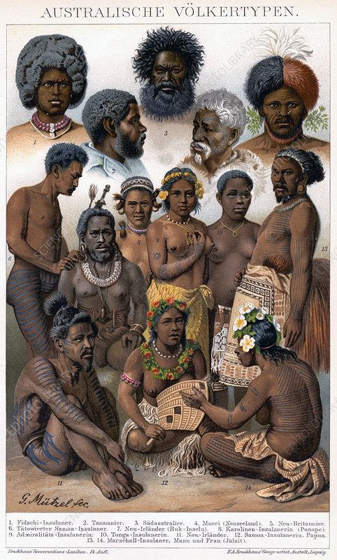 Australian Inhabitants', 1800-1850