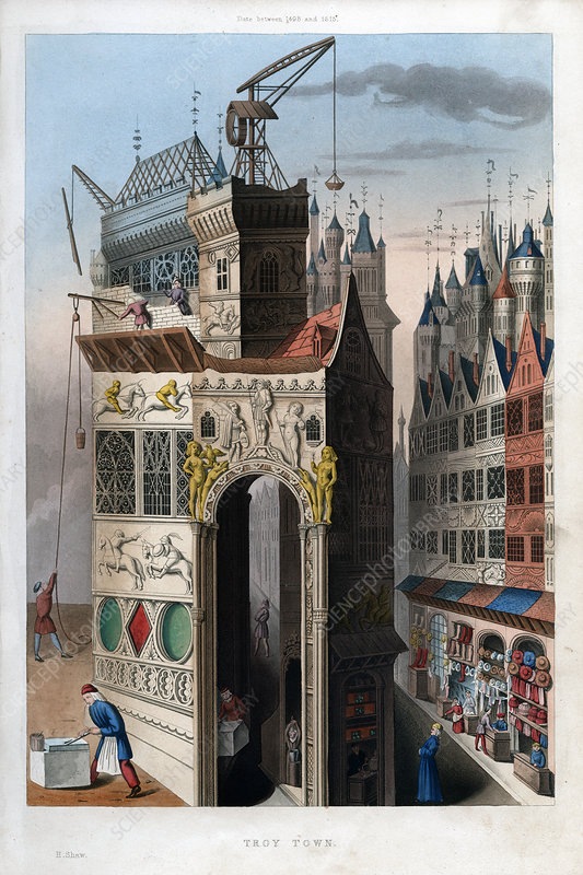 Troy Town', 1498-1515