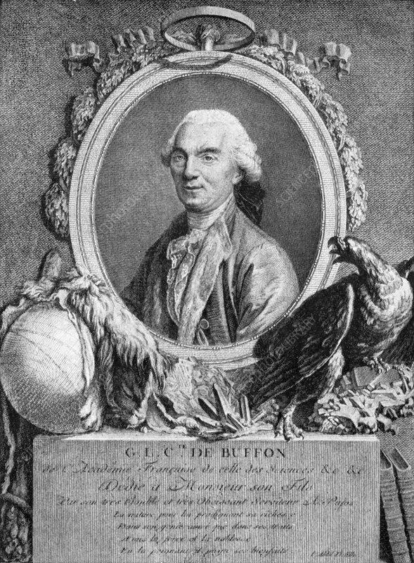 Georges-Louis Leclerc, Comte de Buffon, French naturalist