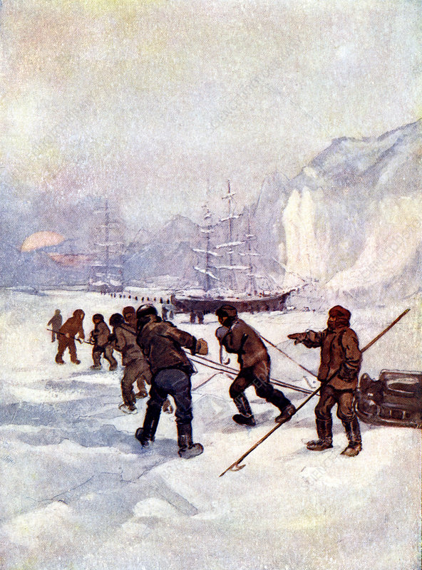 The ships were called the Terror and the Erebus', 1847