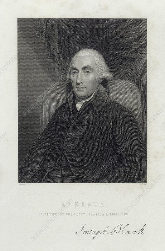 Joseph Black, Scottish chemist, c1780s