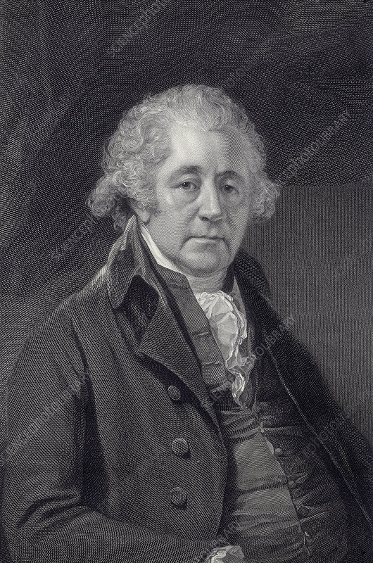 Matthew Boulton, engineer and industrialist, c1801