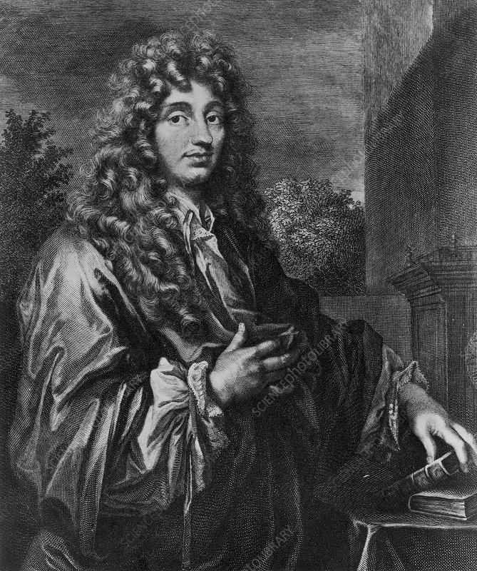 Christiaan Huygens, Dutch physicist, c1670