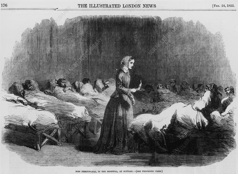Florence Nightingale, English nurse and hospital reformer