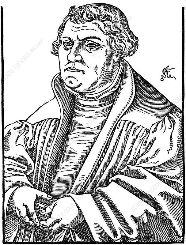 Martin Luther German Protestant reformer, 1546
