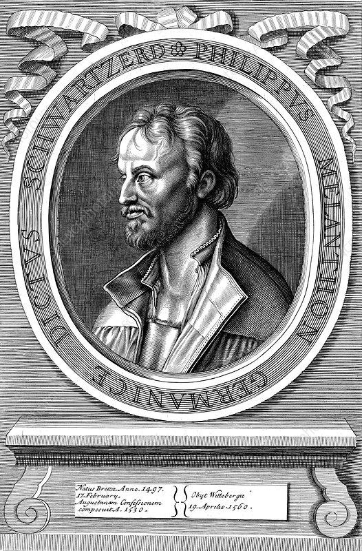 Philip Melanchthon, German Protestant reformer