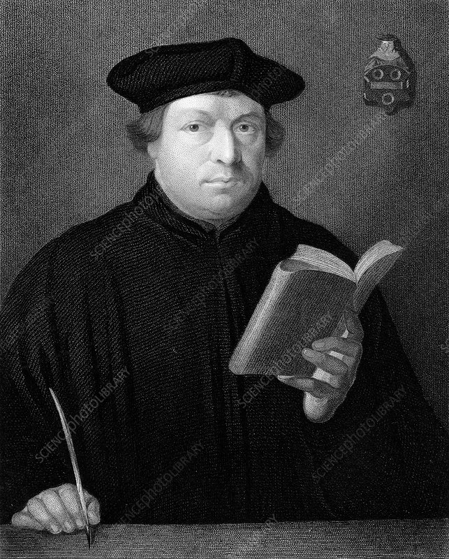 Martin Luther, c1830