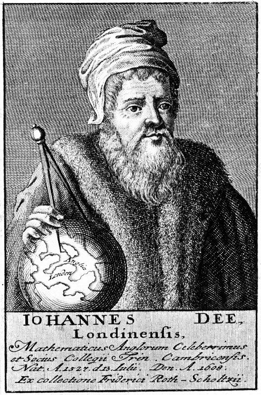 John Dee, English Alchemist, Geographer and Mathematician