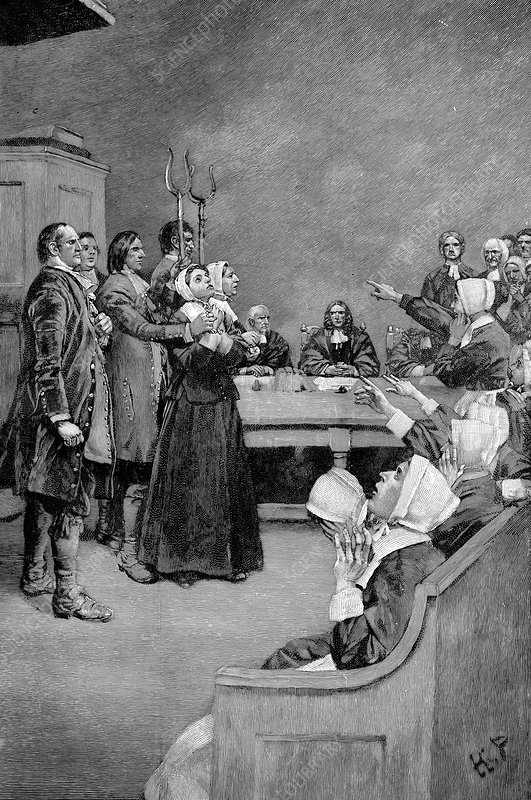 The Trial of a Witch, America, 1882