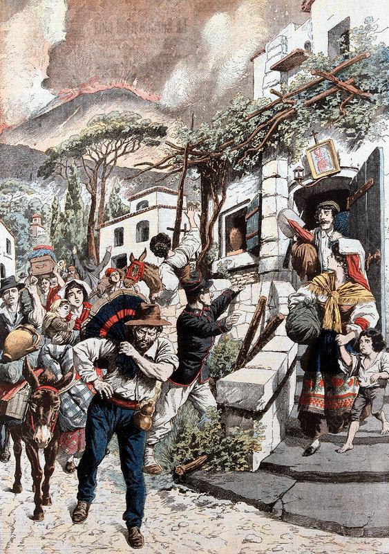 Eruption of Vesuvius, 1906