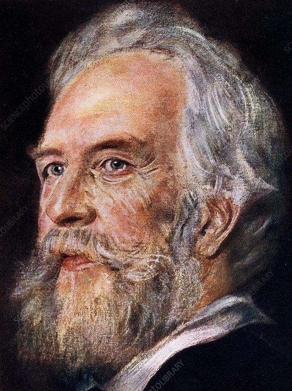 Ernst Haeckel, German zoologist and evolutionist, 1899