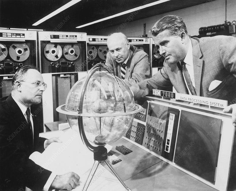 Werner von Braun, German born rocket pioneer, 1944