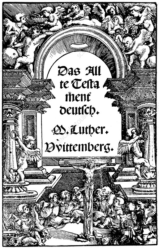 Luther's translation of the Old Testament, 1534