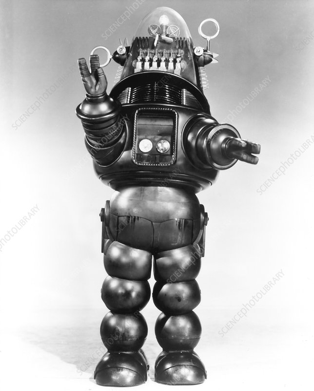 Robbie the Robot, from the film 'Forbidden Planet', 1956
