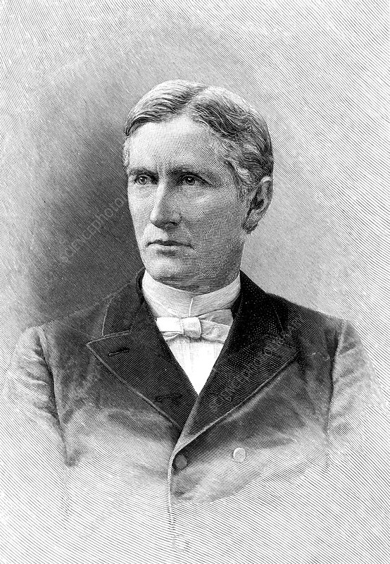 George Frederick Wright, American geologist and cleric, 1892