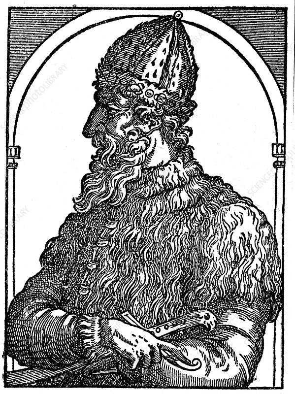 Ivan the Terrible, Tsar of Russia, c16th century
