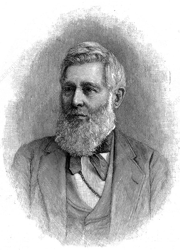 Asa Gray, American botanist, 1888