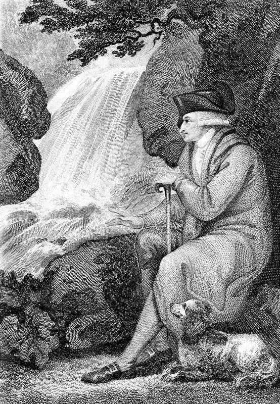 Jean-Jacques Rousseau, French political author, 1787