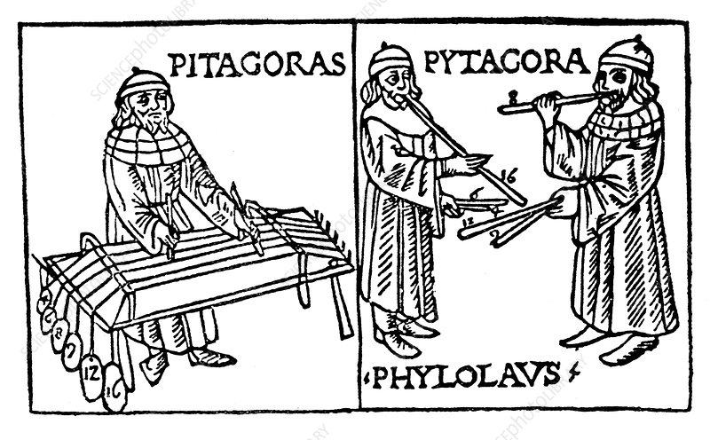 Pythagoras, Greek philosopher and scientist