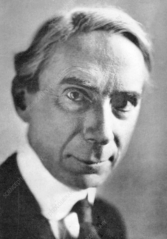 Bertrand Russell, British philosopher and mathematician
